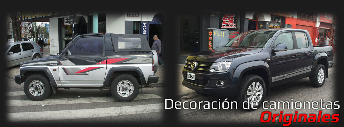 Decoración pickup